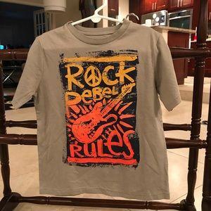 Rock rebel rules guitar gap T-shirt shirt